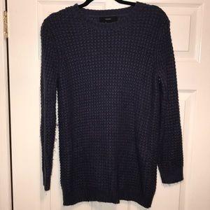 Long Sleeve Navy Sweater